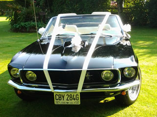 Wedding Hire Kent, Ford Mustang